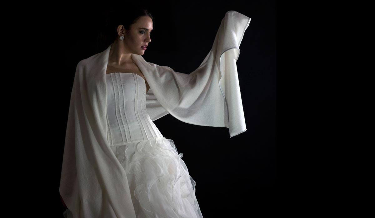 Confortevole, morbida e calda: la nuova collezione dedicata alla sposa